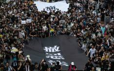 Protesters attend a rally against a controversial extradition law proposal in Sha Tin district of Hong Kong on 14 July 2019. Picture: AFP
