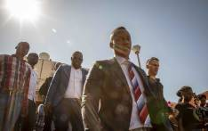 FILE: Duduzane Zuma leaves the Randburg Magistrates Court after a postponement on 26 October 2018. Picture: Thomas Holder/EWN.