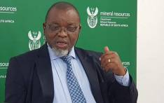 FILE: Mineral Resources Minister Gwede Mantashe. Picture: @DMR_SA/Twitter
