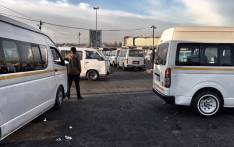 FILE: Germiston taxi rank. Picture: EWN.