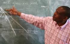 A school teacher in class. Picture: EWN.