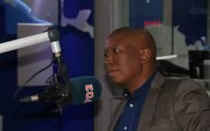 EFF leader Julius Malema in the Radio 702 studio. Picture: EWN