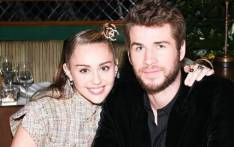 Miley Cyrus and Liam Hemsworth. Picture: Instagram/@mileycyrus