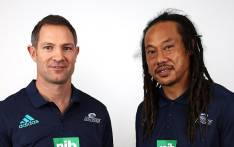 All Blacks legend Leon MacDonald will be the new Blues' head coach while Tana Umaga will be the side's defence coach. Picture: Twitter/@BluesRugbyTeam