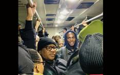 Transport Minister Fikile Mbalula experienced difficulties that Cape Town Metrorail commuters face daily as he joined them on a trip. Picture: @MbalulaFikile/Twitter.