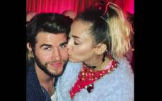 Miley Cyrus and Liam Hemsworth. Picture: @liamhemsworth/instagram.com