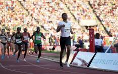 Caster Semenya wins the women's 800m event at the Oslo Diamon League meeting on 7 June 2018. Picture: @Diamond_League/Twitter