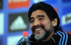 Argentine football legend Diego Maradona. Picture: Facebook.com