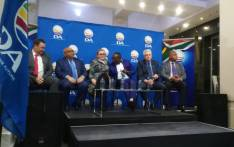 A Democratic Alliance press conference on 19 September confirming Alan Winde (second from right) as the party's candidate for Western Cape premier. Picture: @Our_DA/Twitter