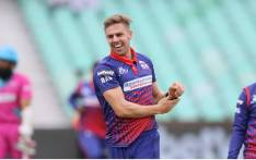 Fast bowler Anrich Nortje in action for the Cape Town Blitz. Picture: @CT_Blitz/Twitter.