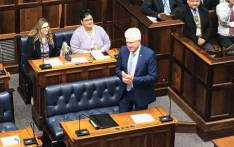 Western Cape Premier Alan Winde in the Western Cape legislature on 22 May 2019. Picture: @WesternCapeGov/Twitter