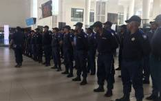 FILE: Rail enforcement officers at the Cape Town train station. Picture: Kaylynn Palm/EWN