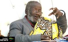 YouTube screengrab of renowned traditional healer and author Credo Mutwa.