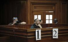Sentencing proceedings against Mortimer Saunders, the man convicted of the rape & murder of 3-year-old Courtney Pieters in the Western Cape High Court. Picture: Cindy Archillies/EWN