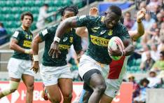 The Blitzboks in action at the London leg of the HSBC Sevens World Series on 26 May 2019. Picture: @Blitzboks/Twitter