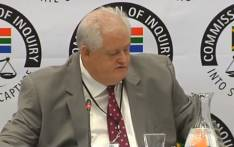 A screengrab of former Bosasa chief operations officer Angelo Agrizzi giving testimony at the Zondo Commission on 18 January 2019.