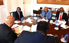 President Cyril Ramaphosa on 18 June 2019 met with members of Eskom's board at his official residence in Cape Town, Genadendal Residence, to establish alignment across government on the actions to be undertaken to stabilise the power utility in light of its financial and operational challenges. Picture: @PresidencyZA/Twitter.