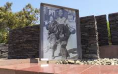 The iconic photograph taken of Hector Pieterson, who was killed during the Soweto uprising in 1976, displayed at the Hector Pieterson museum in Soweto. Picture: Reinart Toerien