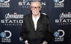 Stan Lee welcomes Marvel's Avengers S.T.A.T.I.O.N. exhibition at Discovery Times Square on 30 May 2014 in New York City. Picture: AFP
