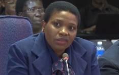 Deputy prosecutions boss Nomgcobo Jiba giving testimony at the Mokgoro Inquiry on 21 February 2019.