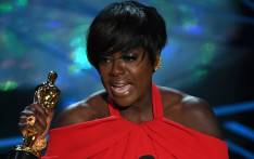 Viola Davis accepts Best Supporting Actress for 'Fences' during the 89th Annual Academy Awards. Picture: AFP.