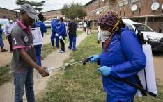 The Gauteng government rolled out a sanitisation programme on 1 April 2020 at the Helen Joseph Women's Hostel in Alexandra in an effort to stem the spread of COVID-19. Picture: Ahmed Kajee/EWN
