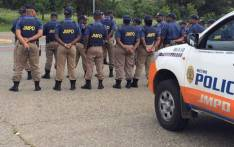 FILE: JMPD spokesperson Wayne Minnaar says they'll be deploying additional officers as residents protest near Randfontein Road, on 6 May 2018. Picture: @JMPDSafety/Twitter.
