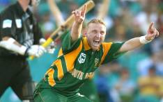 FILE: South Africa's Allan Donald asks the question. Picture: AFP