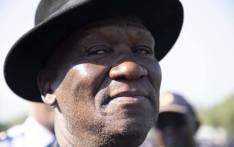 Police Minister Bheki Cele briefing the media at Loftus Versveld on 23 May ahead of the presidential inauguration on 25 May 2019. Picture: Christa Eybers/EWN