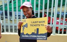 A Johannesburg resident who joined in on the A Re Sebetseng clean-up operation on 15 September won two tickets to the Global Citizen Festival. Picture: @CityofJoburgZA/Twitter.
