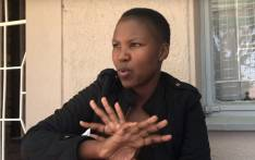 Itumeleng Tsoeu says she was pepper-sprayed while breastfeeding her baby in her car. Picture: Mia Lindeque/EWN