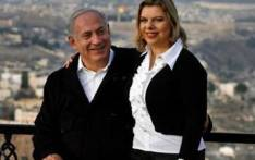 Leader of Israel's Likud party Benjamin Netanyahu and his wife Sara. Picture: Gallo Images/Getty Images