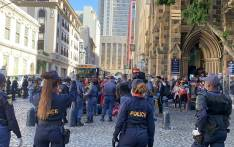 Foreign nationals who were living in a church in Cape Town's CBD on 2 April 2020 were bussed to a new temporary location in Bellville for the duration of the COVID-19 national lockdown. Picture: Kaylynn Palm/EWN.