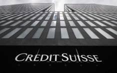 A picture taken on 3 May 2017 in Zurich shows the logo of branch of Swiss banking group Credit Suisse. Picture: AFP