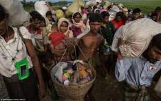 FILE: A baby in a basket is one of 1.2 million Rohingya refugees in Bangladesh. Picture: @UNICEF/Twitter