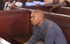 A YouTube screengrab of Kanya Cekeshe in the Johannesburg Magistrates Court on 14 October 2019.