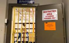 The vault where education officials keep the all-important matric exam papers. Picture: Kaylynn Palm/EWN