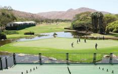 Behind the scenes of the Nedbank Golf Challenge. Picture: EWN.