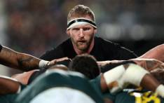 FILE: New Zealand's Kieran Read packs down at the back of the scrum during the Rugby Championship match between New Zealand and South Africa at Albany Stadium in Auckland on 16 September 2017. Picture: AFP