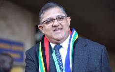 IFP's Narend Singh arrives at the inauguration of President-elect Cyril Ramaphosa. Picture: Abigail Javier/EWN.