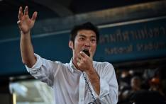 Thai politician and leader of the opposition Future Forward Party Thanathorn Juangroongruangkit speaks to supporters at a rally in Bangkok on December 14, 2019. Picture: AFP