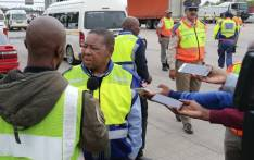 Transport Minister Blade Nzimande discussed the last leg of the 2019 Easter Road Safety Campaign at the N3 Mariannhill Toll Plaza. Picture: @DoTransport/Twitter