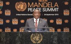FILE: President Cyril Ramaphosa makes remarks during the Nelson Mandela Peace Summit. Picture: United Nations Photo..