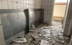 Toilets at Alpine Primary School in Mitchells Plain were destroyed by burglars. The school governing body said they wanted the school fixed or replaced so that learners could return to classes. Picture: Kaylynn Palm/EWN