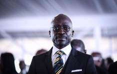 Malusi Gigaba at the funeral of former Bafana Bafana forward Phil Masinga on 24 January 2019 at the Khumalo Stadium in Khuma, North West province. Picture: Abigail Javier/EWN