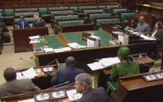 FILE: A video screengrab of MPs resuming public hearings on whether to amend the Constitution to allow for land expropriation without compensation.