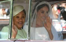FILE: Meghan Markle (R) and her mother, Doria Ragland, arrive for her wedding ceremony to marry Britain's Prince Harry, Duke of Sussex, at St George's Chapel, Windsor Castle, in Windsor, on 19 May 2018. Picture: AFP.