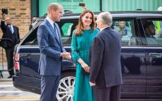 The Duke and Duchess of Cambridge join His Highness the Aga Khan for a special event at the Aga Khan Centre on 2 October 2019, ahead of their official visit to Pakistan later in October. Picture: Twitter/@KensingtonRoyal