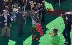 FILE: 2019 Comrades Marathon winner Edwin Mothibi. Picture: @ComradesRace/Twitter