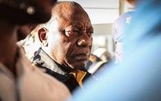 President Cyril Ramaphosa interacts with commuters at Mabopane train station in Soshanguve on 18 March 2019. Picture: Abigail Javier/EWN